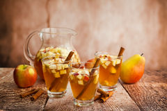 Autumn Sangria Stock Photo