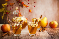 Autumn Sangria Royalty Free Stock Photos