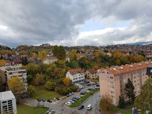 Autumn in Sarajevo, Bosnia&Herzegovina. Nice view stock photos