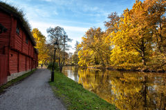 Autumn in Scandinavia Royalty Free Stock Images