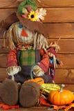 Autumn Scarecrow Photo stock