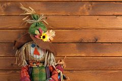 Autumn Scarecrow Royaltyfria Bilder