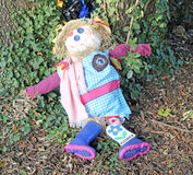 Autumn Scarecrow Stock Image