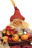 Autumn Scarecrow royalty free stock photo