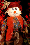 Autumn Scarecrow Two Stock Photo
