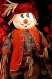 Autumn Scarecrow Two. A scarecrow ready for the autumn season and Halloween season Stock Photo