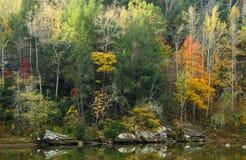 Autumn Scene. Autumnal scene at Cumberland Falls State Resort Park, Kentucky Stock Photography