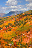 Autumn scene in Colorado Stock Photos