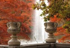 Autumn scene in Madrid Royalty Free Stock Photo