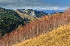 Autumn scenery in the mountains Royalty Free Stock Image