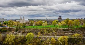 Autumn scenery of Ottawa, Canada royalty free stock photo