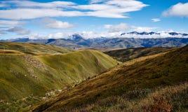 Autumn scenery of the Qinghai Tibet Plateau. The autumn scenery of the Qinghai Tibet Plateau Stock Photo