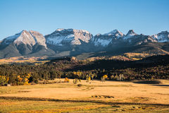 Autumn Scenery in the Rocky Mountains of Colorado. Royalty Free Stock Photos