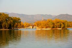The Summer Palace, Beijing, China stock images