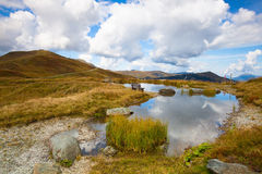 Autumn scenery in Tyrolean Alps Stock Photography