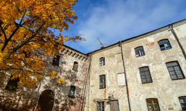 Autumn scenery in Vyborg, Russia Stock Images