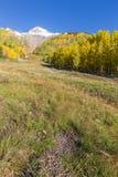 Autumn Scenic in the Rockies Stock Photos