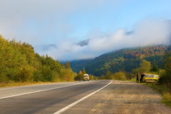 Autumn scenic view Stock Image