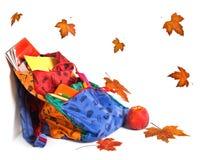 Autumn school still-life Stock Photography