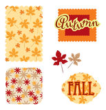 Autumn scrapbook Royalty Free Stock Photo