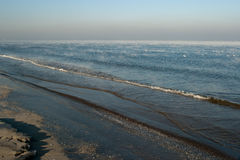 In autumn the sea. Stock Photography