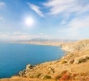Autumn sea coast. This is Autumn sea coast stock photo