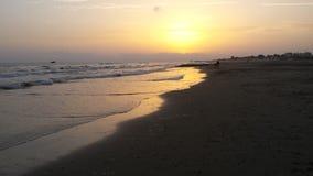 Autumn Sea-landschap royalty-vrije stock foto's
