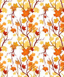 Autumn seamless Royalty Free Stock Photography