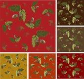Autumn seamless background. Royalty Free Stock Photos