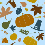 Autumn seamless background. Royalty Free Stock Images