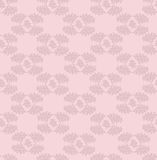 Autumn seamless background. Leaves seamless pattern on pink background Royalty Free Stock Photo