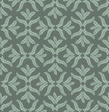Autumn seamless background. Leaves seamless pattern on grey background Royalty Free Stock Image