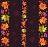 Autumn Seamless Pattern stock illustration