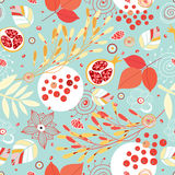 Autumn seamless pattern Royalty Free Stock Images