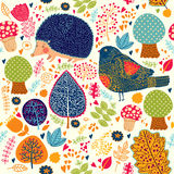 Autumn seamless pattern Royalty Free Stock Photo
