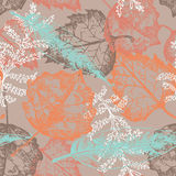 Autumn seamless pattern Royalty Free Stock Photography