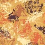 Autumn seamless pattern Stock Photography