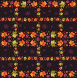 Autumn  Seamless Pattern 3 Royalty Free Stock Images
