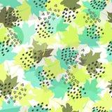 Autumn Seamless Pattern abstrait Perfectionnez pour des papiers peints, milieux de page Web, textures extérieures, textile Photographie stock libre de droits