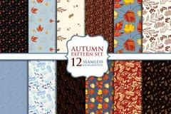 Autumn Seamless Pattern Royalty Free Stock Photography