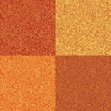 Autumn seamless pattern. Royalty Free Stock Image