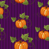 Autumn seamless pattern, gift wrapping, invitation for Halloween or Thanksgiving,set3 Stock Images