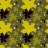 Autumn seamless pattern Royalty Free Stock Photo