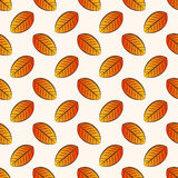 Autumn seamless pattern. Vector background. Royalty Free Stock Image