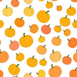 Autumn seamless pattern in vector Royalty Free Stock Images