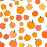 Autumn seamless pattern in vector Royalty Free Stock Photo