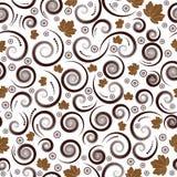 Autumn seamless vector floral stock illustration