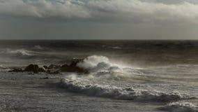 Autumn seascape Stock Images