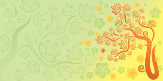 Autumn season background Stock Photography