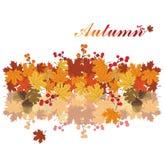 Autumn season background stock illustration